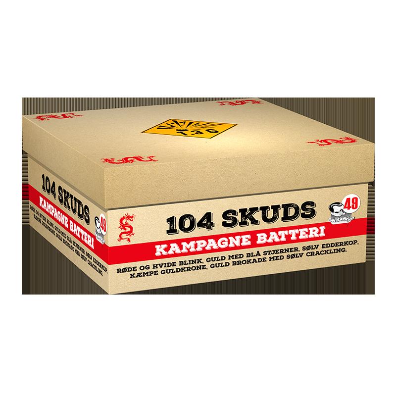 salg af batteri fyrværkeri